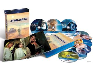 Star Wars Blu ray out soon
