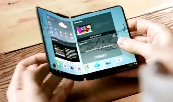 samsung galaxy x confirmed as first in a new series of folding