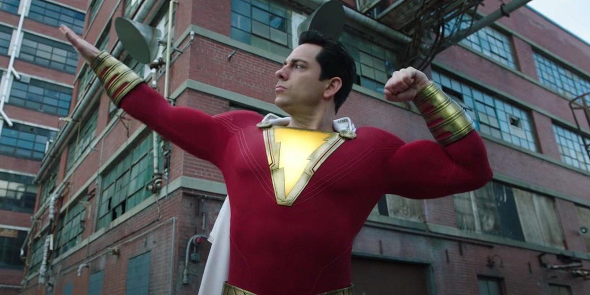 Zachary Levi as Shazam