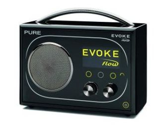 Pure's Evoke Flow 'connected' radio combines internet radio, DAB and FM in one handy box!