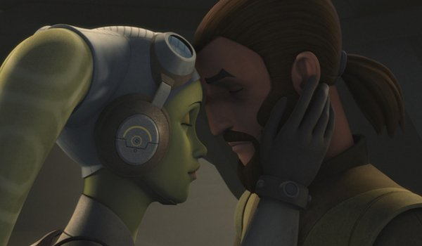 star wars rebels kanan hera kiss season 4