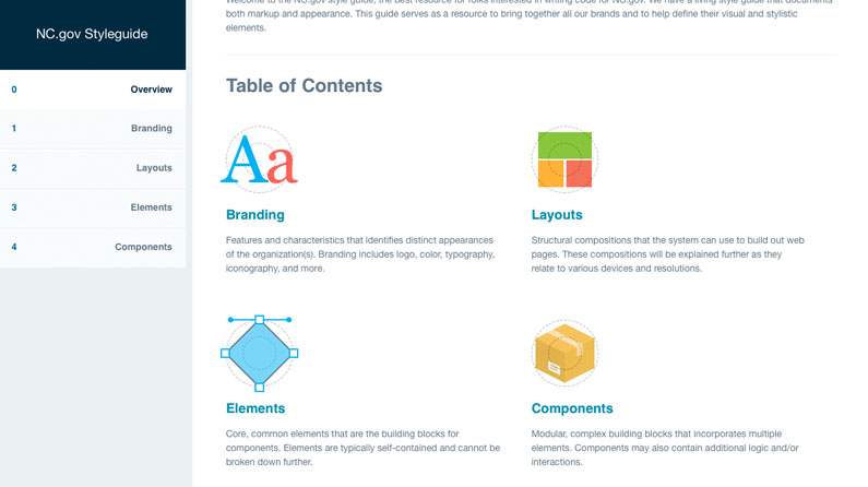 3 online style guides that do it right creative bloq rh creativebloq com web style guide contents web style guide contents