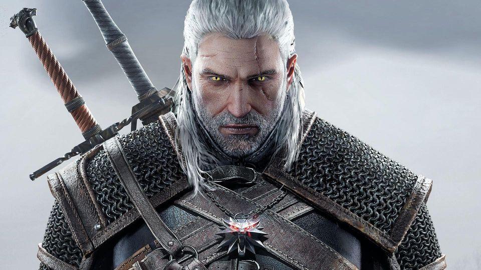 The Witcher 3 - Geralt artwork