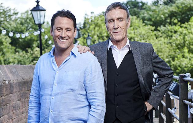 Tony Hutchinson and dad Edward in Hollyoaks
