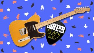 Bag a classic Butterscotch Blonde Telecaster for just $549.99 with this ace Fender Black Friday deal