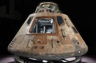 "The Apollo 11 command module ""Columbia"" will be displayed at the Cincinnati Museum Center in Ohio as the new fifth and final stop of the Smithsonian's Destination Moon: The Apollo 11 Mission touring exhibition."
