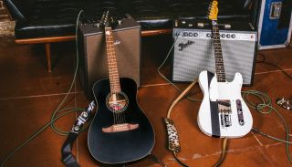 Fender's new Joe Strummer Campfire acoustic and Esquire electric