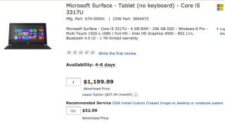 Microsoft Surface 256GB