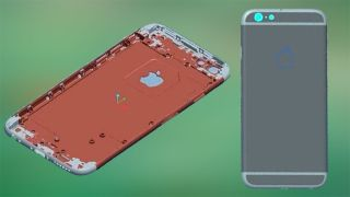 iPhone 6 3D renderings