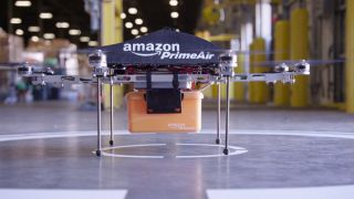 Jeff Bezos introduces Amazon Prime Air, delivery by drone in 30 minutes