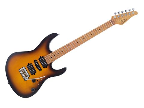 The Antique Modern features an innovative 'roasted maple' neck.