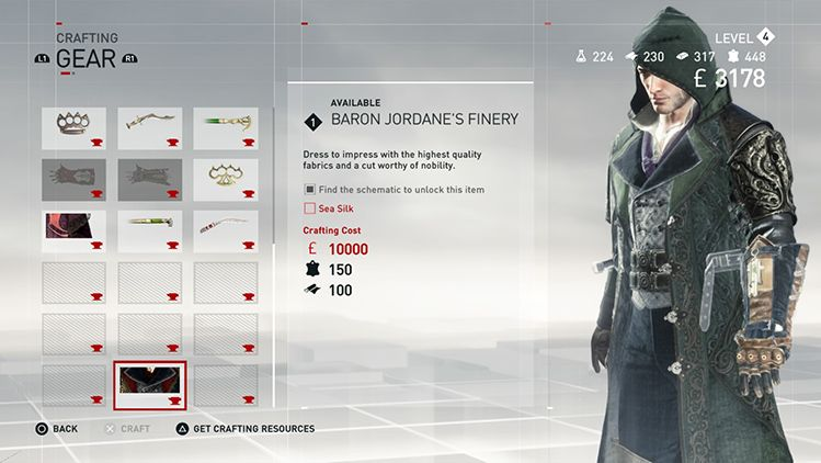Crafting Returns For Assassin S Creed Syndicate Here S How It