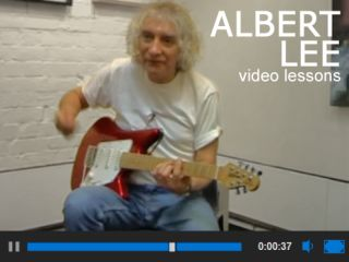 Learn from the expert Albert Lee teaches guitar