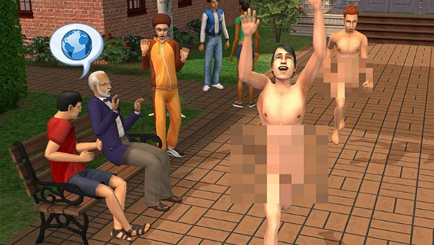 nude video games characters