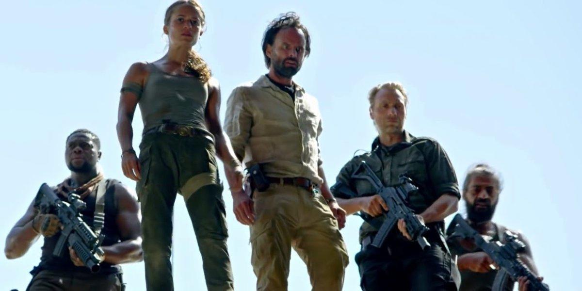The Tomb Raider cast