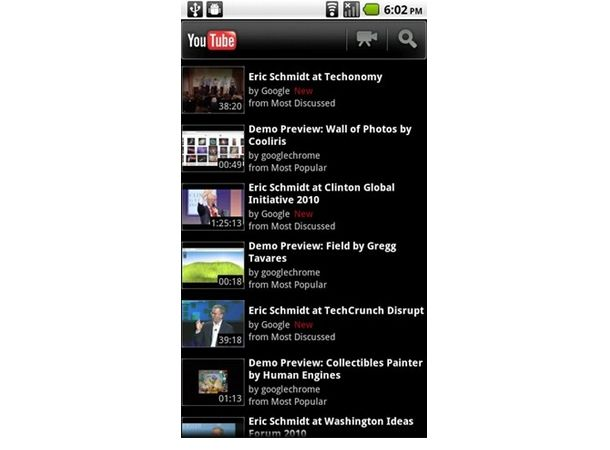 Google releases YouTube app for Android 2 2 FroYo | T3