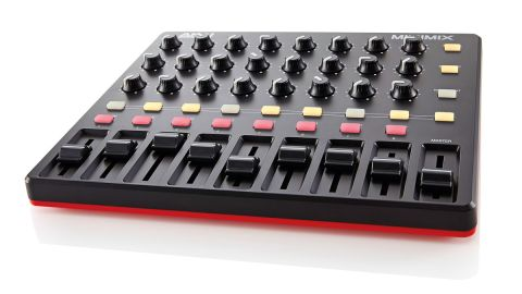 The MIDImix has a footprint smaller than our 11-inch MacBook Air and is very lightweight
