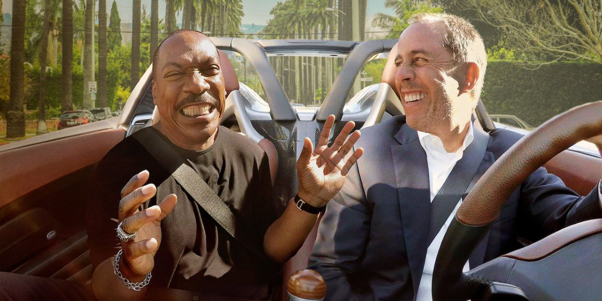 Eddie Murphy and Jerry Seinfeld on Comedians in Cars Getting Coffee