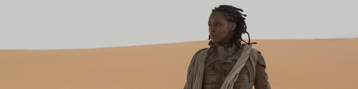 Liet-Kynes (Sharon Duncan-Brewster) in Dune