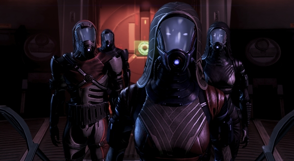 Quarians Mass Effect