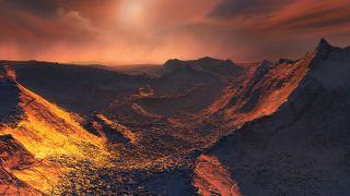 Barnard's Star b surface art