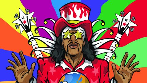 Cover art for Bootsy Collins - World Wide Funk album