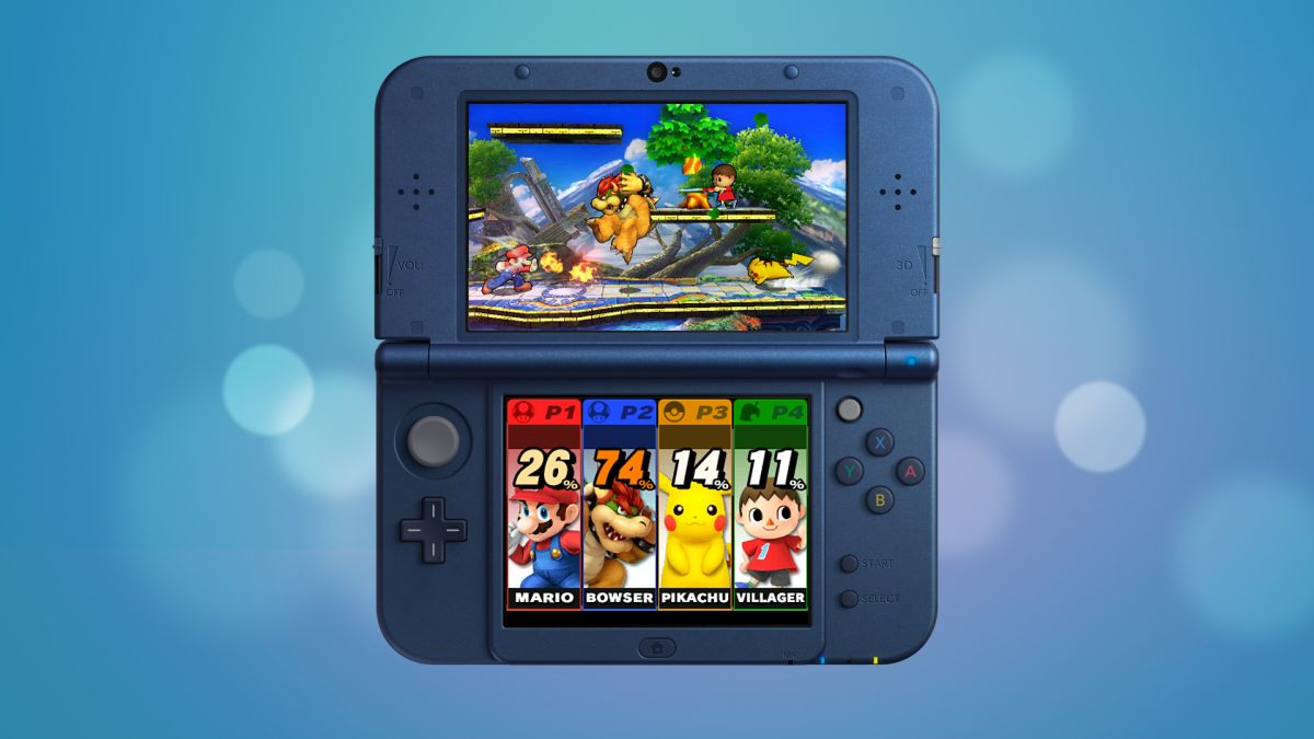 new nintendo 3ds xl review techradar. Black Bedroom Furniture Sets. Home Design Ideas