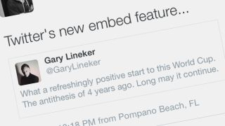 Twitter now allows you to embed tweets within tweets on iOS and Android