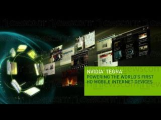 Nvidia showcased its impressive Tegra chip at Computex