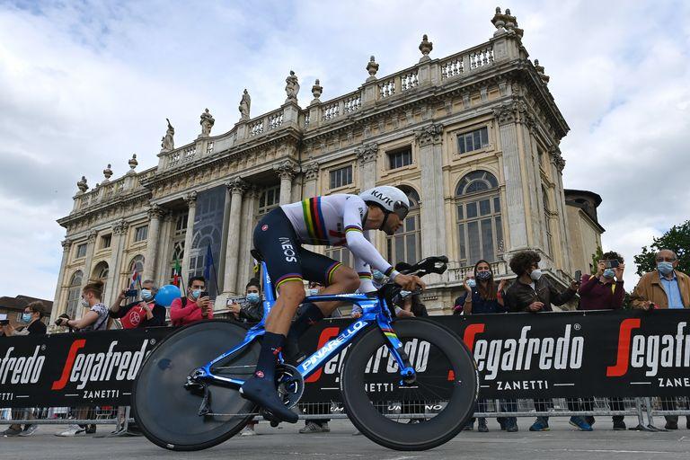 Filippo Ganna, Giro d'Italia 2021 stage one