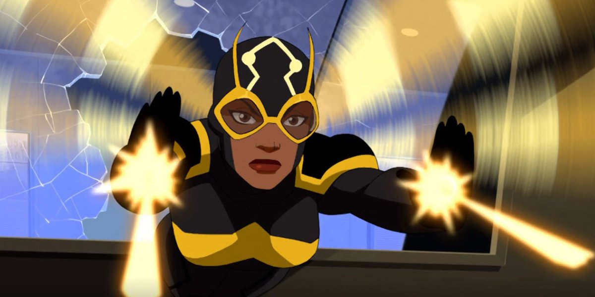 Bumblebee on the animated series Young Justice