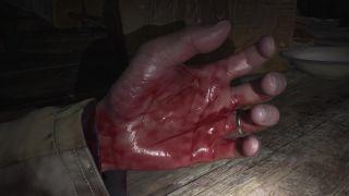Ethan's hand
