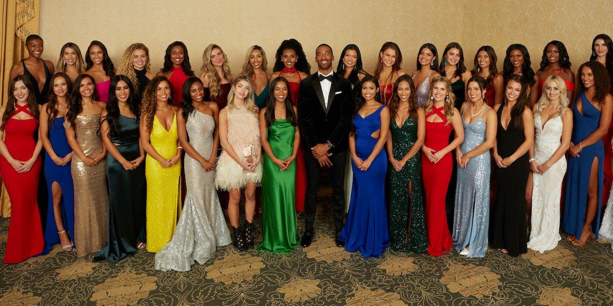 the bachelor matt james season 25 2021 contestants abc