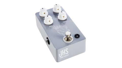 The Twin Twelve provides overdrive with a different flavour in front of your amp