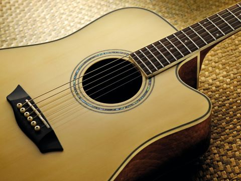 The Washburn WCD18CE is an electro-acoustic targeted at the cost-conscious.
