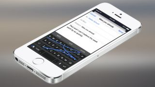 Microsoft iPhone keyboard word flow news
