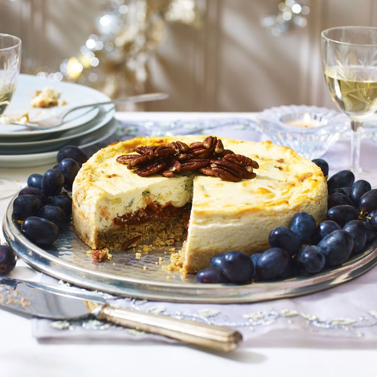 Stilton Cheesecake with Quince