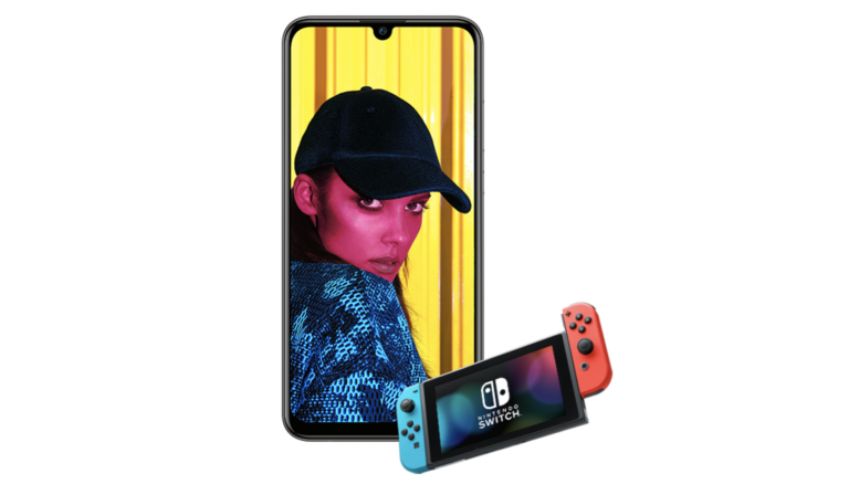 Huawei P Smart Nintendo Switch deal