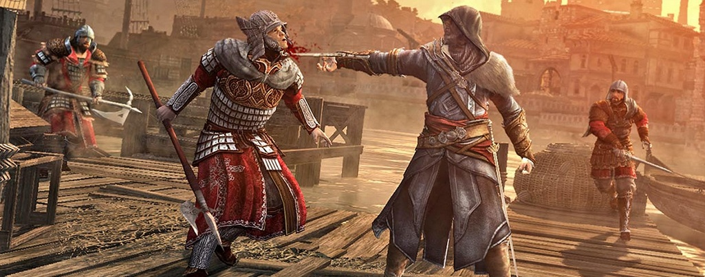 Assassin S Creed Revelations Screenshots And Artwork Show Hookblade In Action Pc Gamer