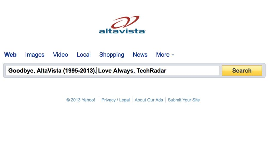 Yahoo axes AltaVista and 11 other services you've forgot about