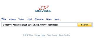 Yahoo shuts down AltaVista