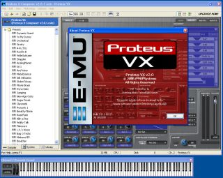 Proteus VX puts classic E-MU sounds on your desktop.