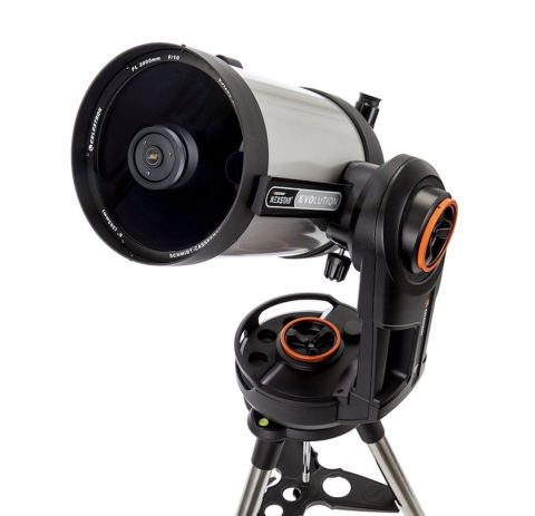 A press shot of the Celestron NexStar Evolution 8
