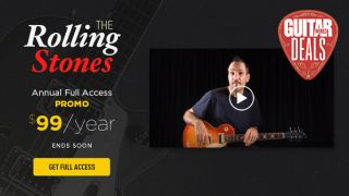 Rolling Stones fans, get 45% off a Guitar Tricks annual sub plus 32 Stones song lessons