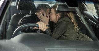emmerdale, charity dingle, ross barton, kiss