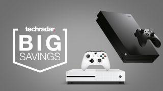 Xbox One S Xbox One X deals sales price