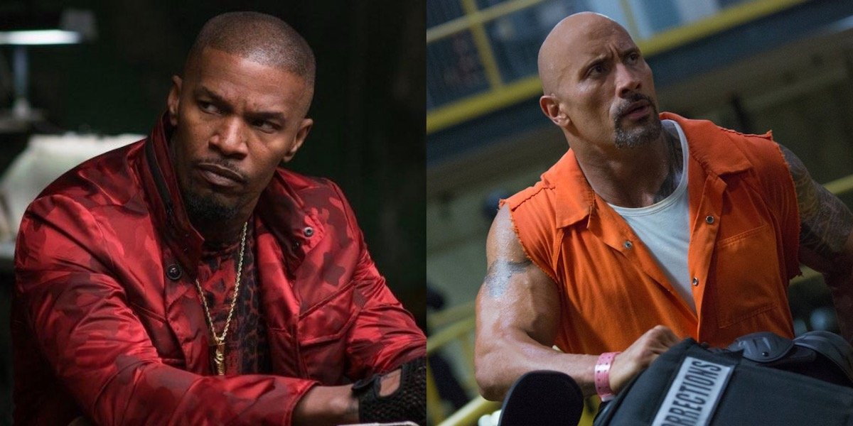 Jamie Foxx and Dwayne Johnson