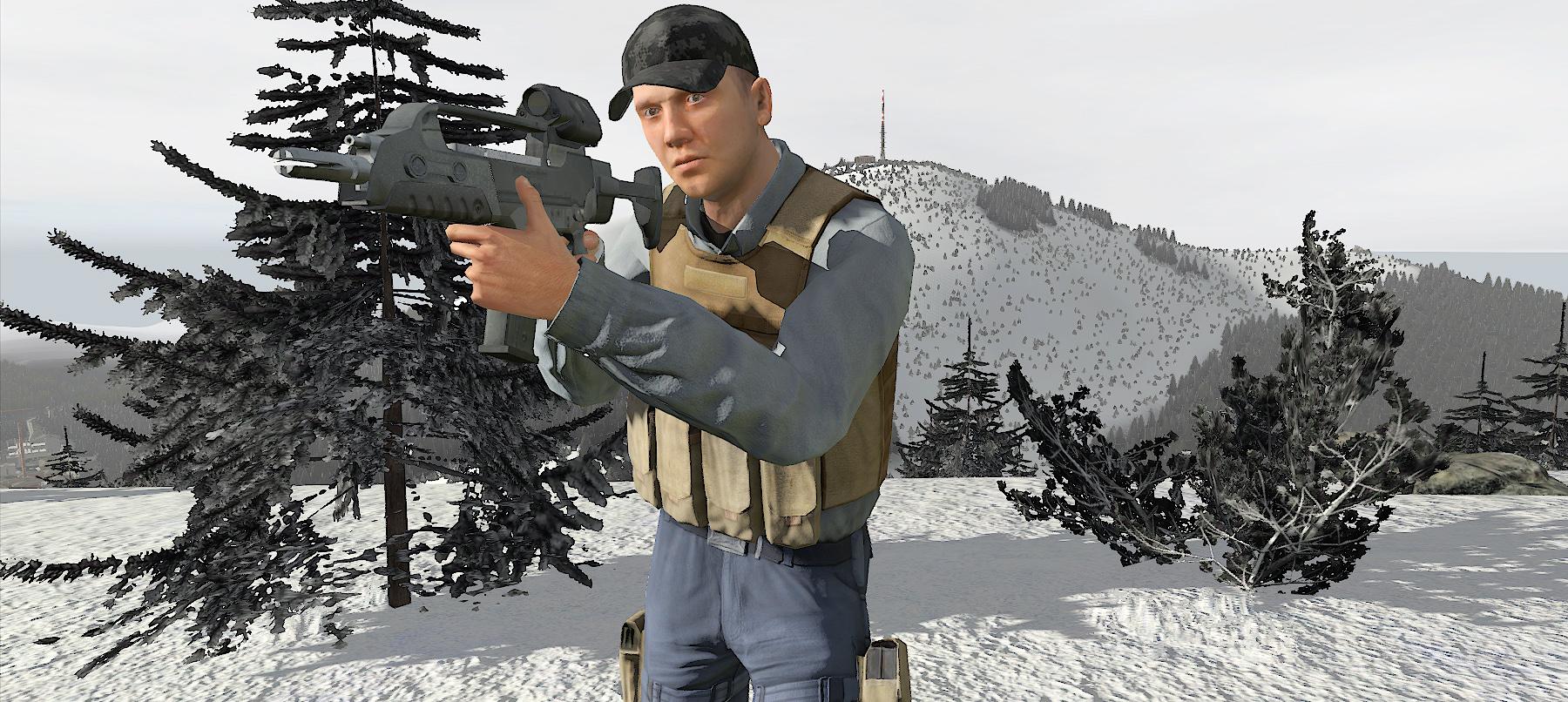 Will this winter wonderland be DayZ's next map? | PC Gamer