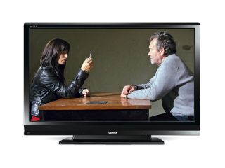 The 2D people in this television picture indicate that this is not the 3D television