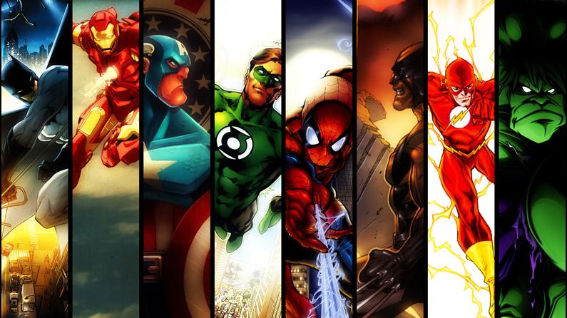 Can You Identify These Superhero Logos Creative Bloq